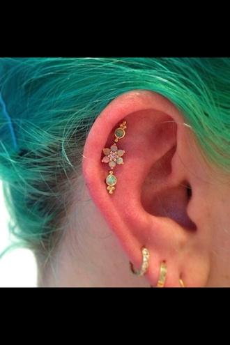 jewels ear piercings studs jewelery