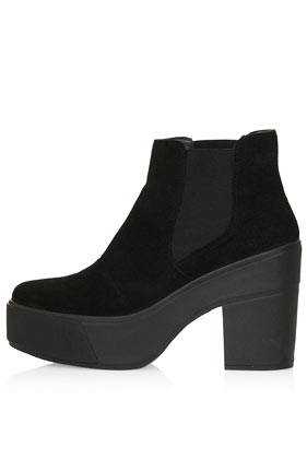 ANNY Platform Chelsea Boots - View All  - Shoes  - Topshop