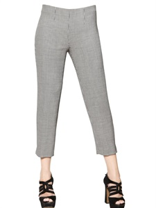 16cm stretch houndstooth trousers