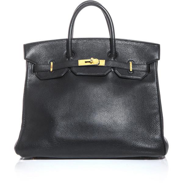 Hermes Vintage Leather Hac bag - Hermès - Polyvore