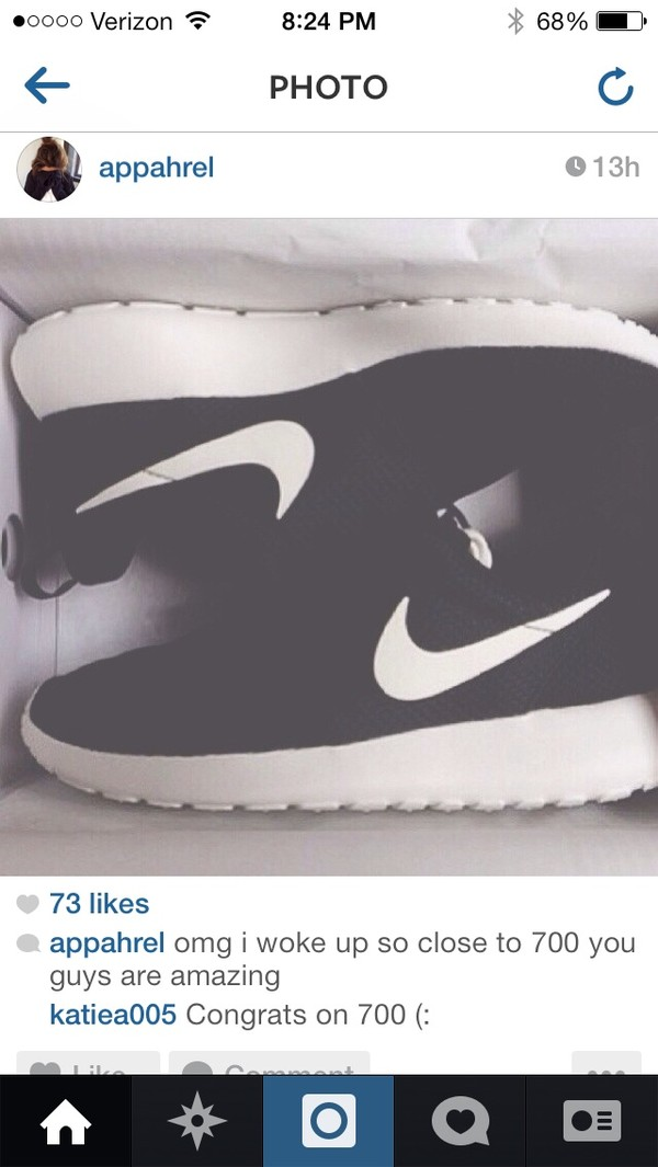 shoes nike black and white nike free run nike shoes