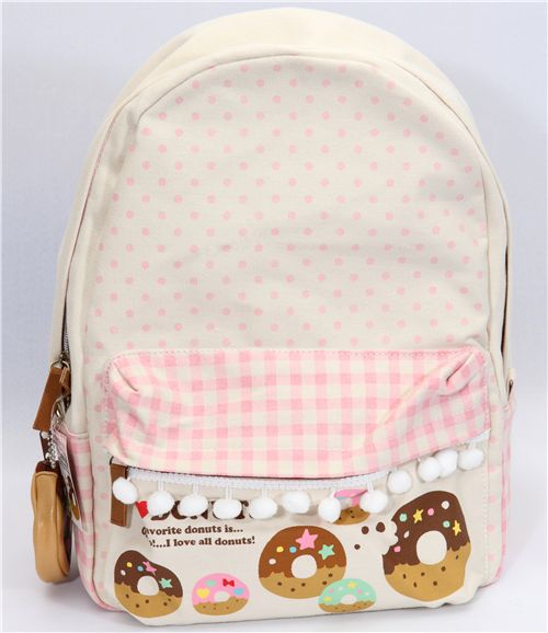 donuts backpack from Japan kawaii - Backpacks - Bags - Accessories