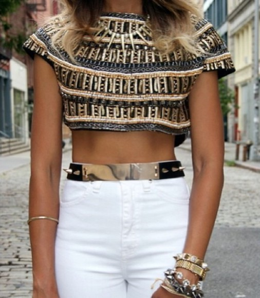 gold sequins shirt crop tops shorts grey summer got white shirt sequins sequins top