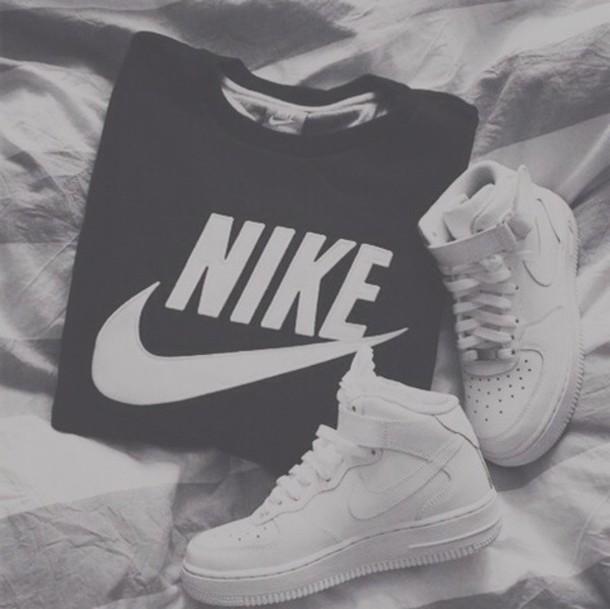 Swag Shirts Nike Air Force One Nike Basse Swag