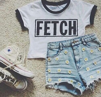 shorts flowers tumblr wow style blue white formal dress forever 21 converse outfit shirt fetch cute