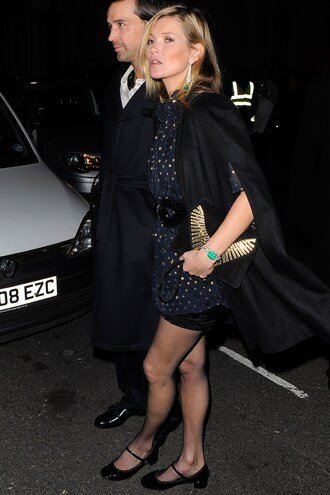 dress coat cape kate moss