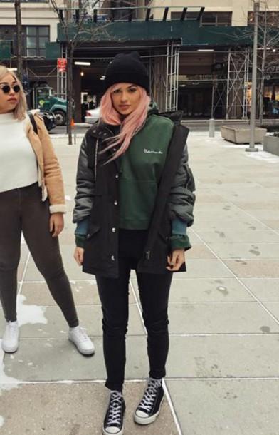 Sweater Hoodie Instagram Jacket Fashion Week 2016