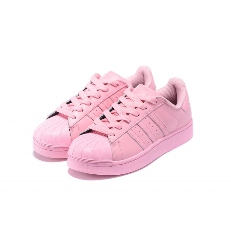 Adidas Superstar Pharrell Williams x Supercolor Pack Shoes - light pink (697)
