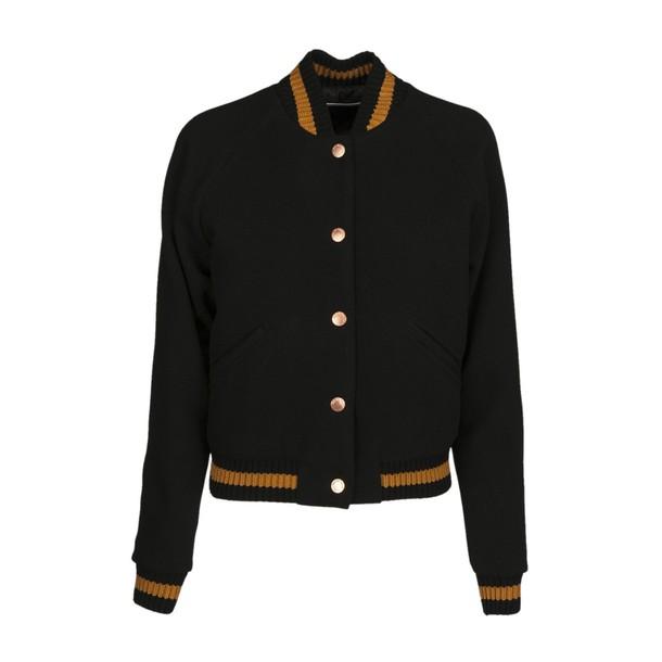 See by Chloe jacket bomber jacket cropped black