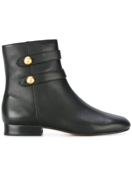 MICHAEL Michael Kors women ankle boots leather black shoes