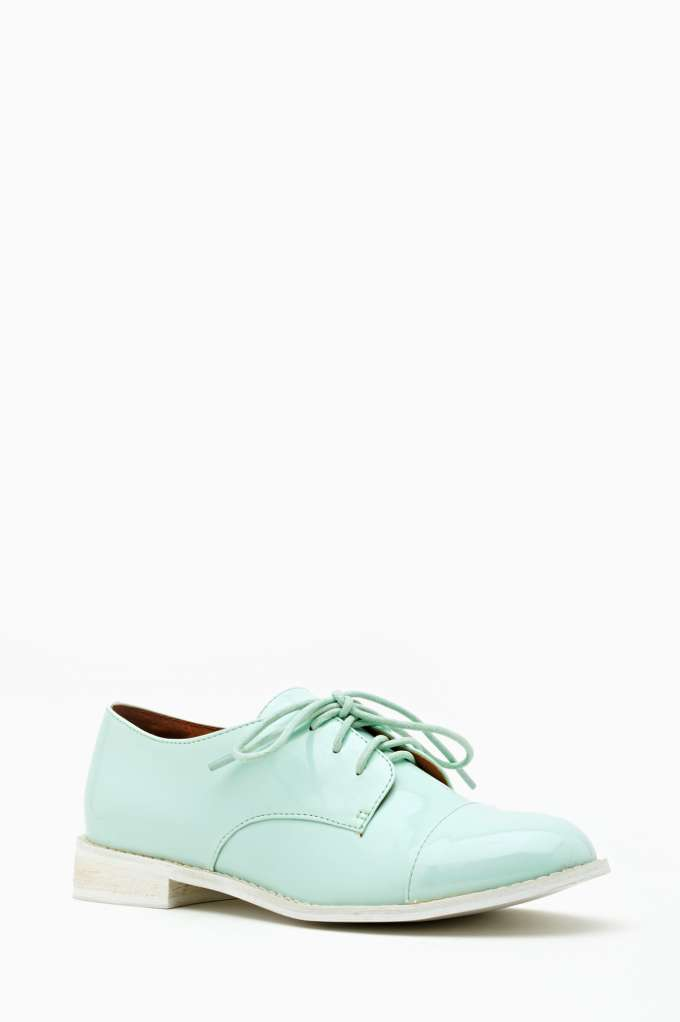 Charlie Oxford - Mint | Shop Designed By Us at Nasty Gal