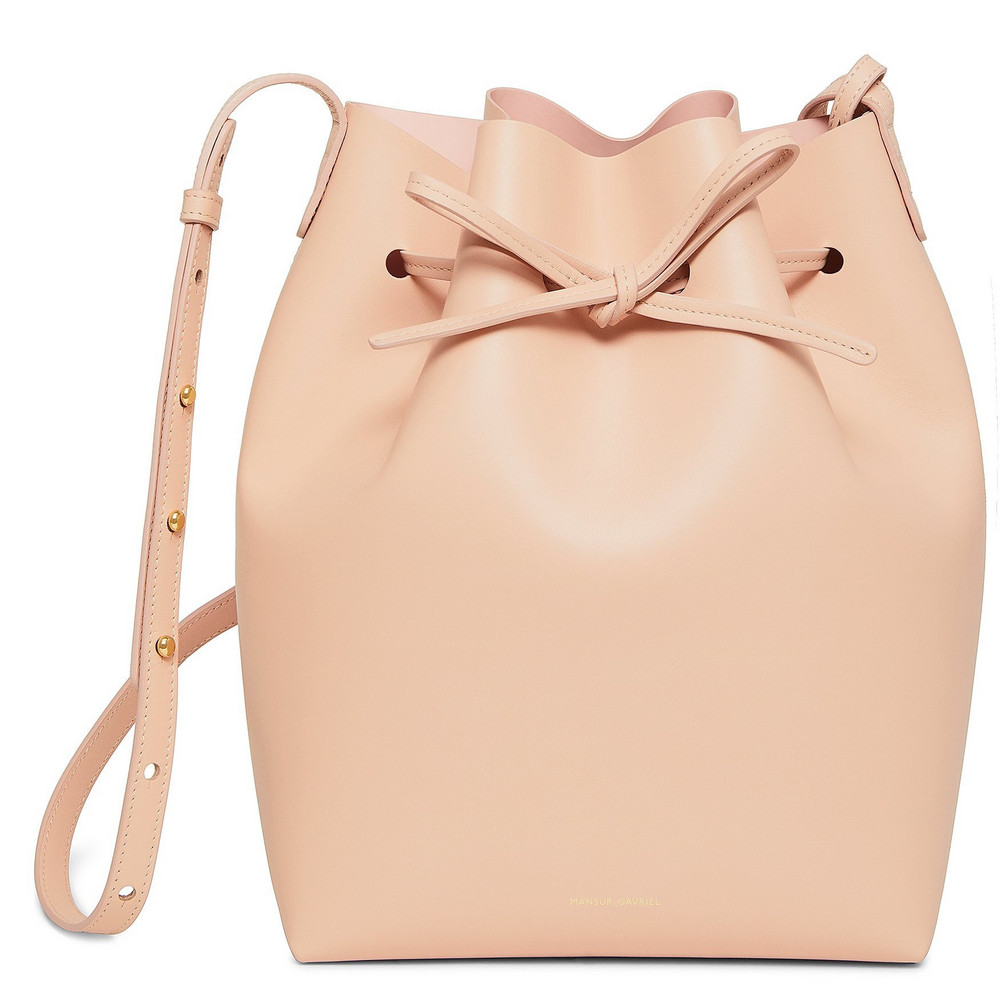 Mansur Gavriel Calf Bucket Bag - Royal