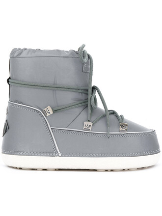 snow boots women snow boots cotton grey shoes