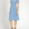 Maria heart-print short-sleeved dress | hvn | matchesfashion.com us