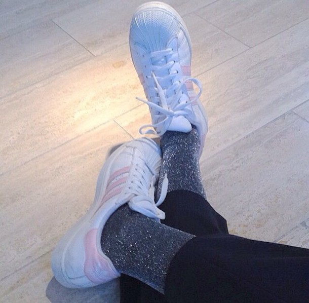 shoes adidas pink white sneakers