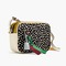 Fashionicon: collection signet bag in colorblock leopard italian calf hair