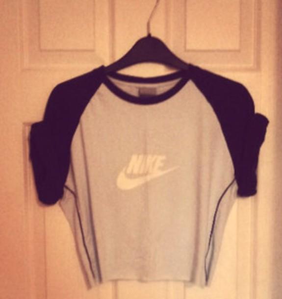 t-shirt blue white nike tshirt