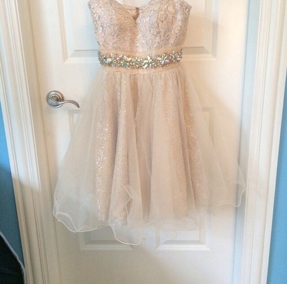 sparkly homecoming dress sparkly dress light pink