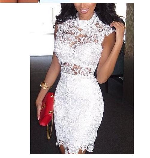 Hot lace show body elegant fashion dress