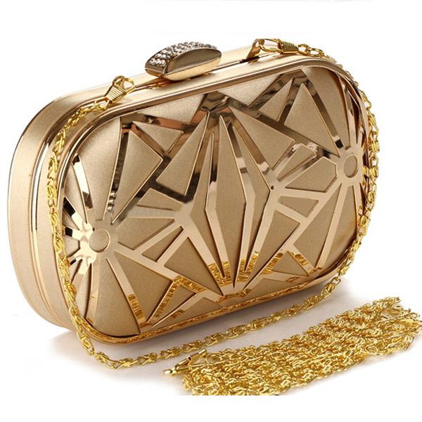Clutch Gold Diva - Shiny Style Accesorii pentru femei