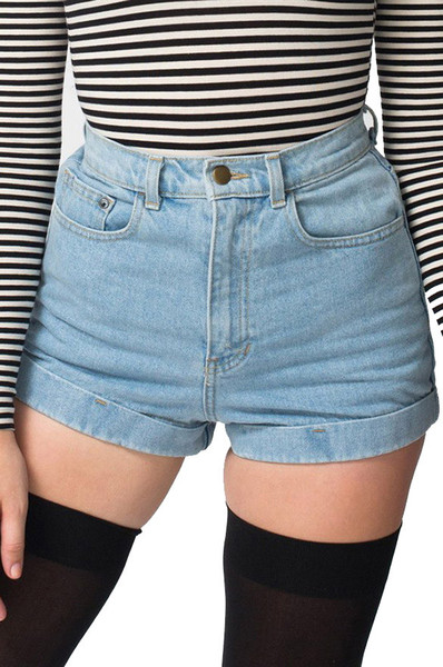 Bona high rise vintage denim shorts