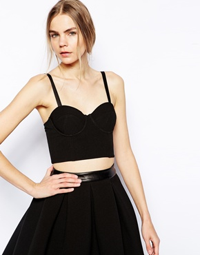Selected | Selected Liana Bustier Top at ASOS