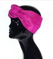 hair accessory,pink turban,fuchsia turban,studded turban,turban,turband,fuchsia