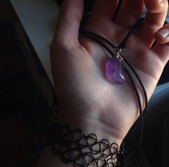 jewels stone purple stone purple