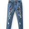 Fashion hole jean pants|disheefashion