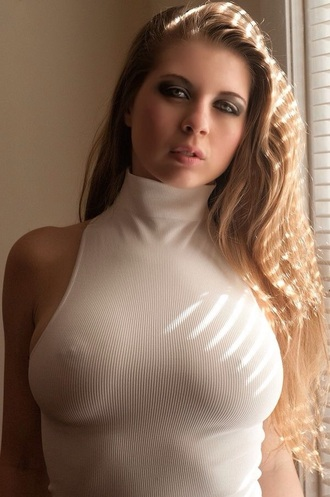 tank top sex top nipples white