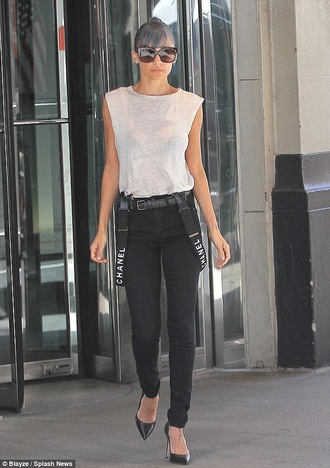 belt suspenders nicole richie shoes