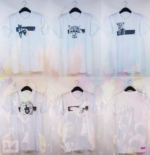 t-shirt animal 14 lion dog birds tiger top summer gold swag stylish white white t-shirt rolled sleeves casual t-shirts pink colorful