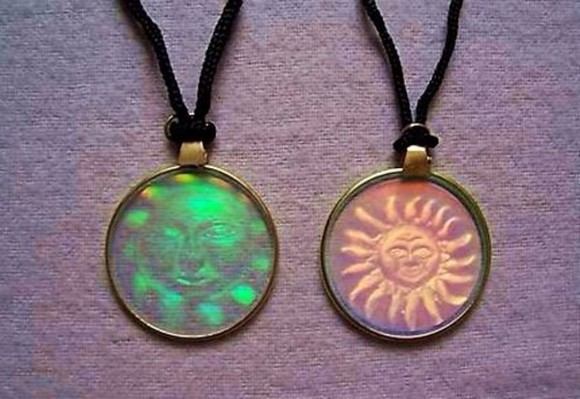 jewels sun necklace hippie boho