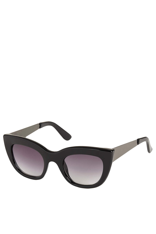 Sasha Metal Arm Cateye Sunglasses - Cats Eyes Sunglasses - Sunglasses - Bags & Accessories