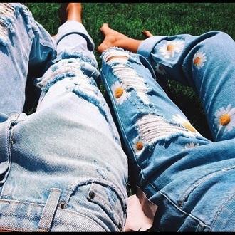 jeans daisy