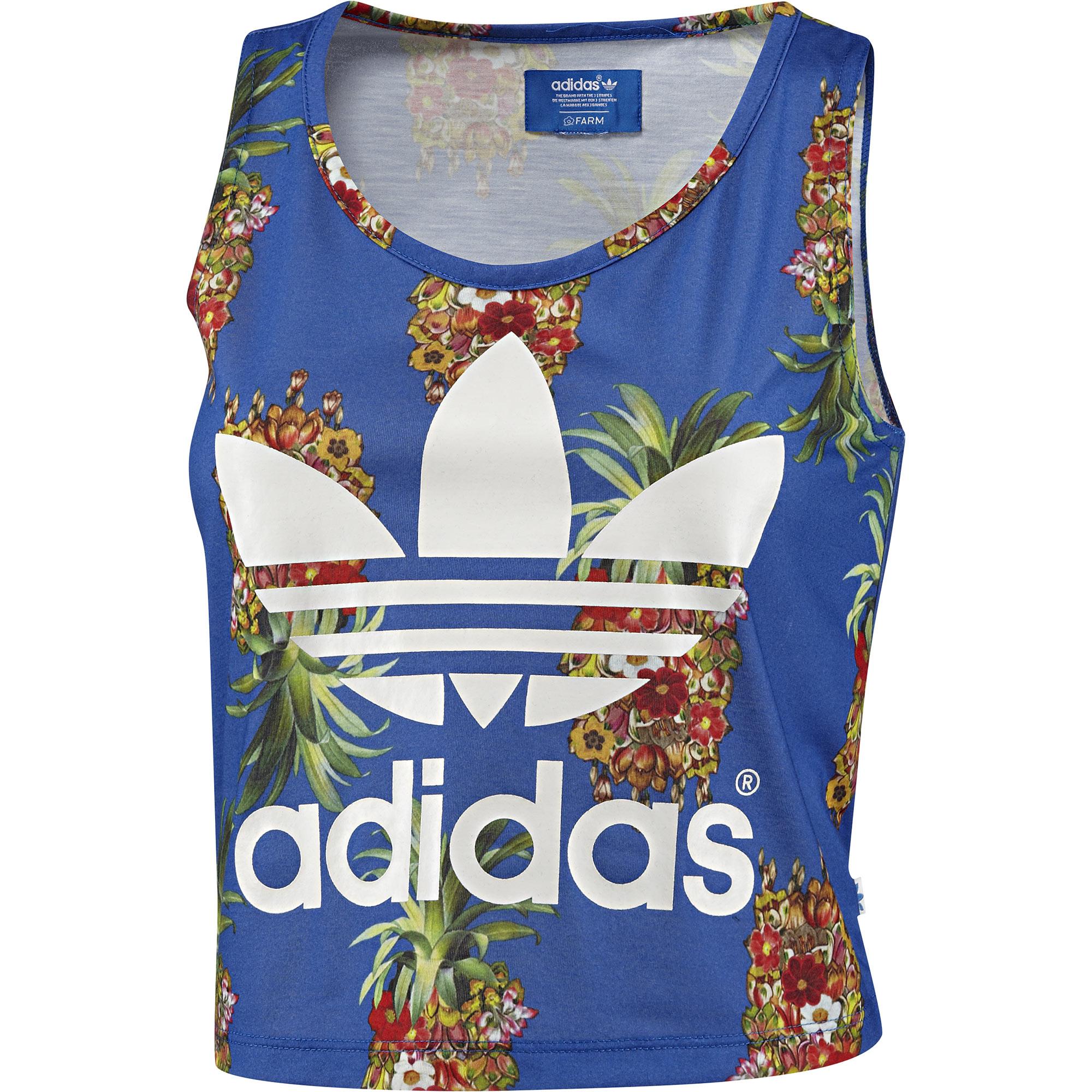 Regata Frutaflor FARM adidas | adidas Brasil