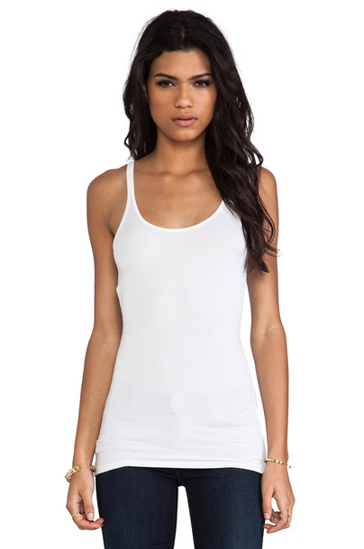 T by Alexander Wang spandex white