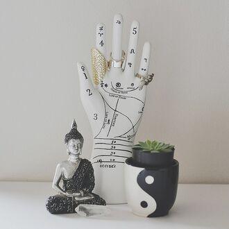 home accessory bedroom buddha yin yang fashion boho bohemian room accessoires hispter nature