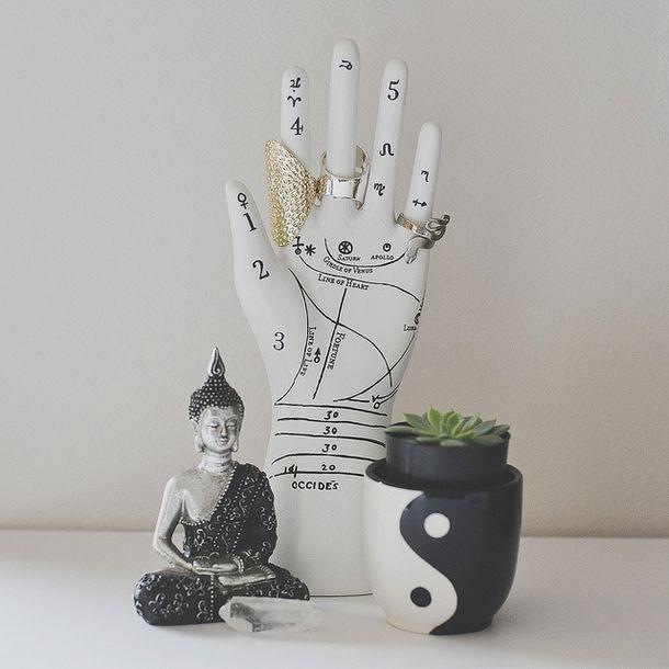 Home accessory bedroom buddha yin yang fashion boho for Music room decor diy