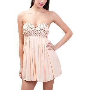 Studded sweet heart dress