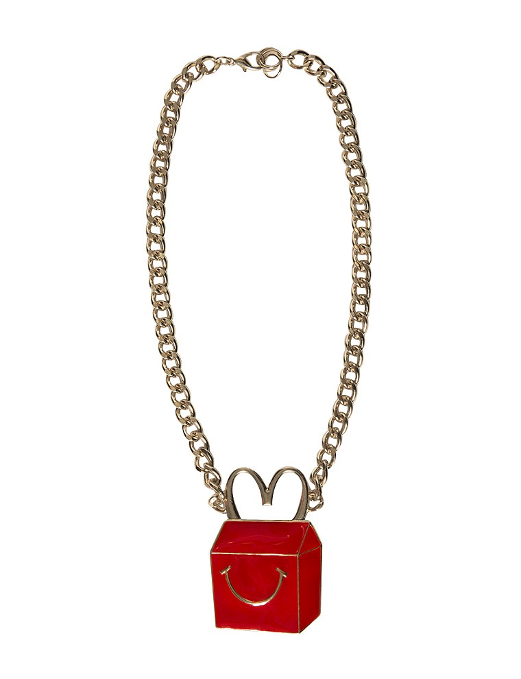 Mcdonald's necklace - Cartoon Statement Necklace - $19