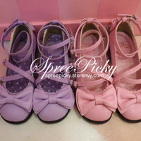 Heeled round toe princess shoes free shipping sp130143 · spreepicky · online store powered by storenvy