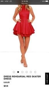dress,red,mini dress,homecoming dress,red dress,red prom dress,red carpet dress,homecoming,short homecoming dress,party dress,cocktail dress,lulus,skater dress