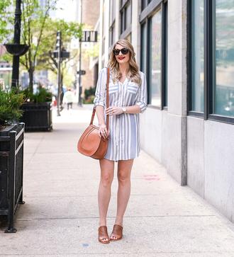 visions of vogue blogger dress shoes bag sunglasses jewels make-up