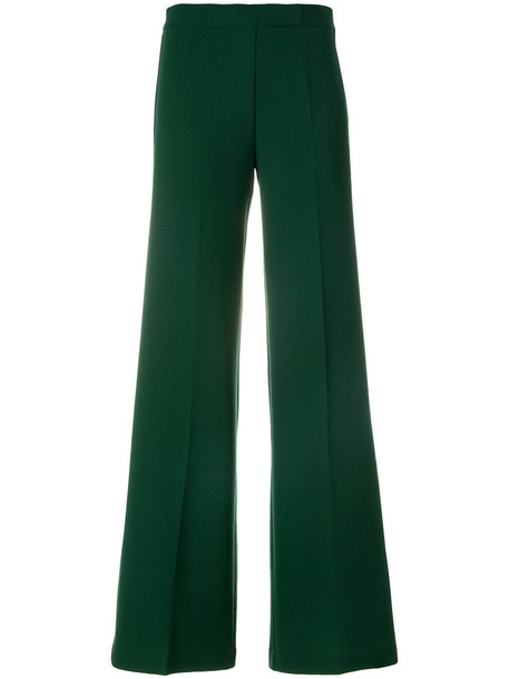 P.A.R.O.S.H. pants women spandex wool green