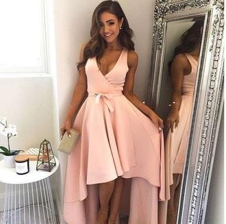 dress pink dress nude dress short dress