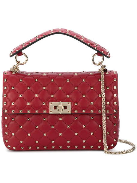 Valentino women bag crossbody bag leather red