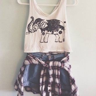 shirt elephant