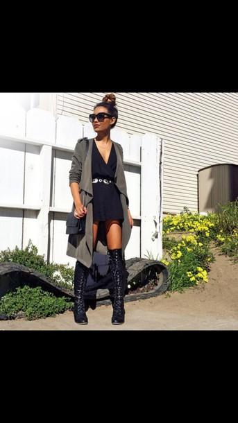 dress shoes belt coat fashion cardigan cute top jacket romper hair accessory