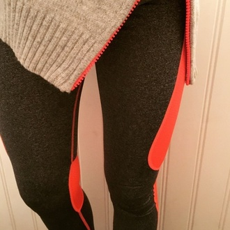 leggings peach workout pants jacket fashion style cute work out clothing cute top